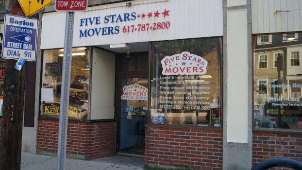 On location at Five Stars Movers, a Mover in Boston, MA